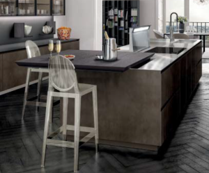SLIDE Pull out Kitchen table / breakfast bar