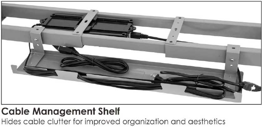 Cable management For Sit Stand Desk