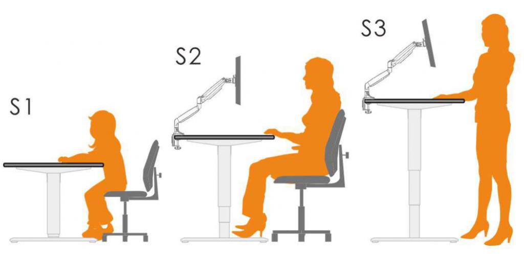 Sit-Stand Desk Height Presets