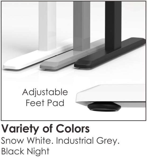 Sit-Stand Desk Leg Colours