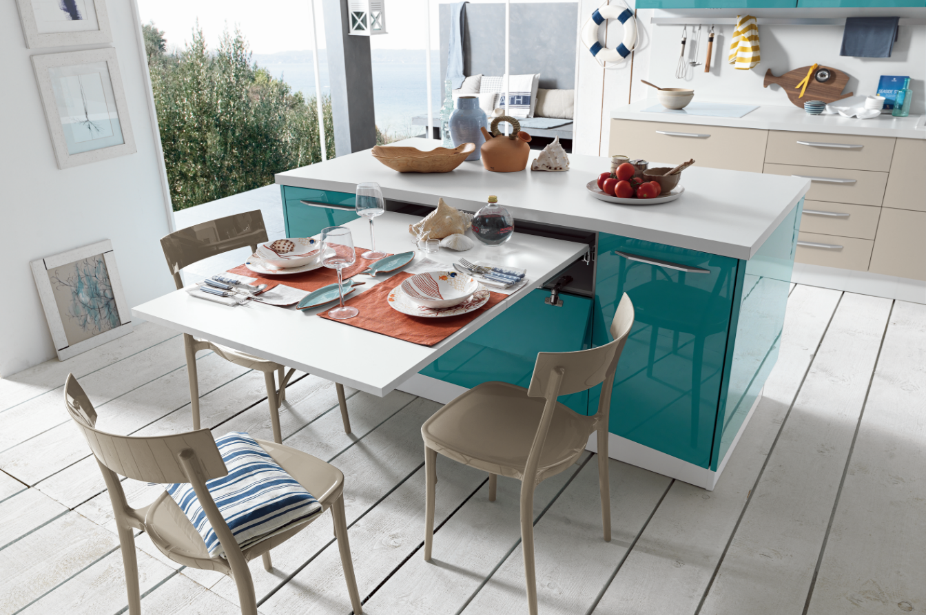 Brunch Pull Out Table
