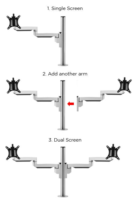 Filex Monitor Arms