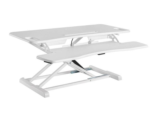 Desktop Sit Stand Workstation. 800mm Wide